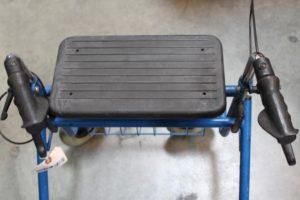 Med Industries 05VT Rollator Transport Chair Duro Med Industries Transport Chair