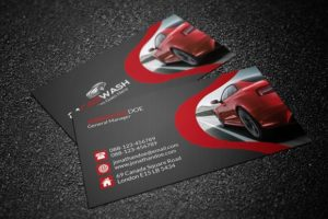 Vehicle Rental Business Card Template Car Rental Design